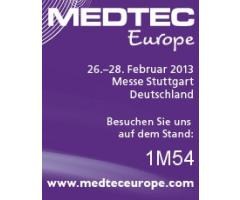 RESINEX will be at MEDTEC Europe, 26 – 28 February 2013, Stuttgart